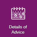 Details of Advice